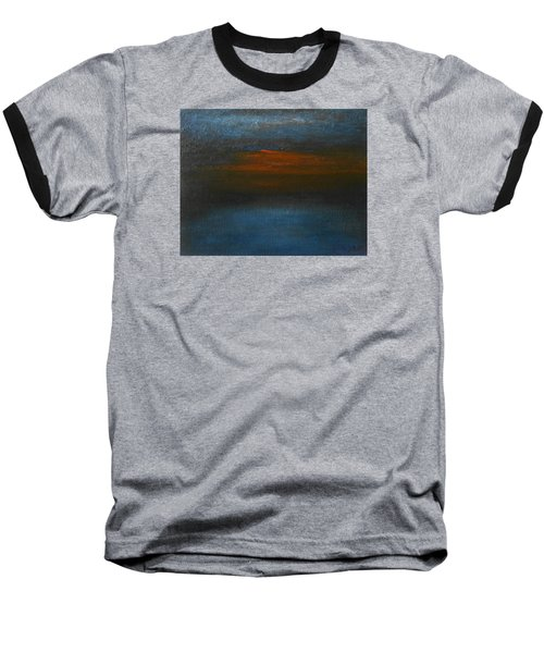 Baseball T-Shirt featuring the painting Twilight by Jane See