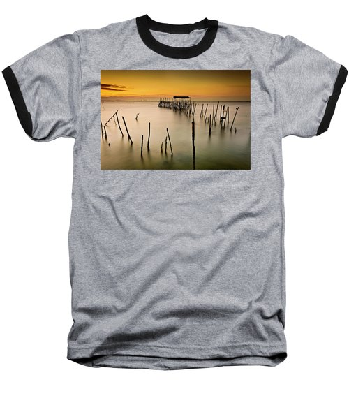 Baseball T-Shirt featuring the photograph Twilight by Jorge Maia