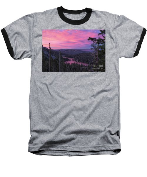 Twilight Mammoth Lakes  Baseball T-Shirt