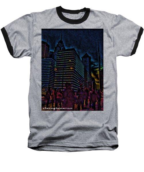 Twilight Of Uncertainty Baseball T-Shirt