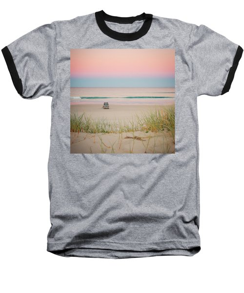 Twilight On The Beach Baseball T-Shirt