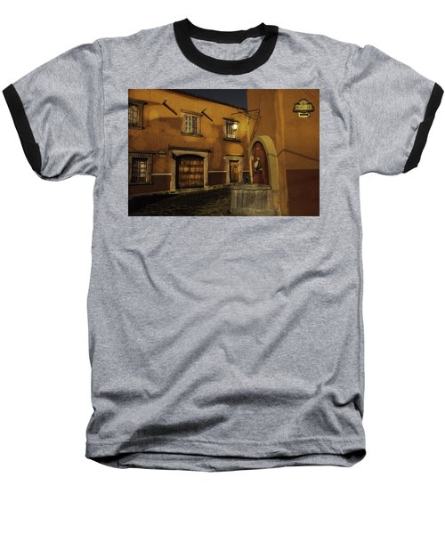 Twilight On The Corner Baseball T-Shirt