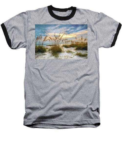 Twilight Sea Oats Baseball T-Shirt