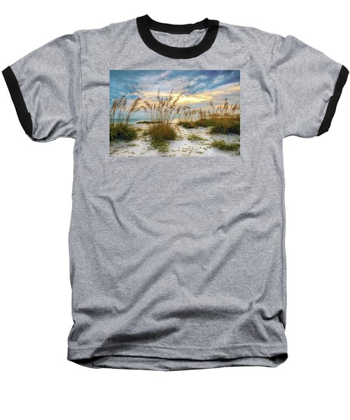Twilight Sea Oats Baseball T-Shirt