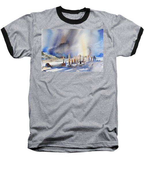 Twilight Time Baseball T-Shirt