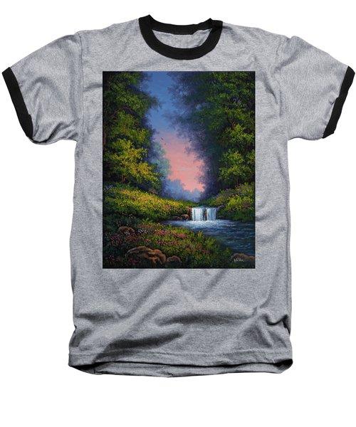 Twilight Whisper Baseball T-Shirt