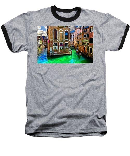 Twin Canals Baseball T-Shirt