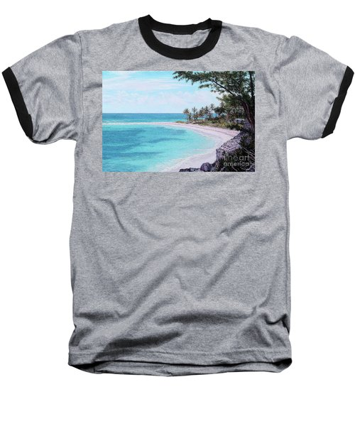 Twin Cove Paradise Baseball T-Shirt