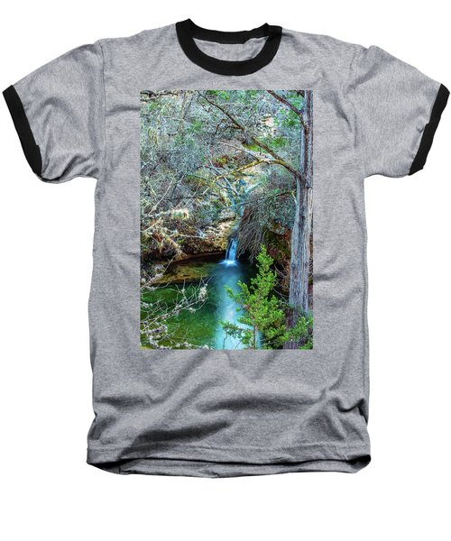 Twin Falls At Peddernales Falls State Park Baseball T-Shirt