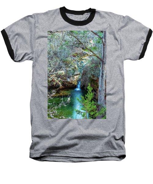 Twin Falls At Peddernales Falls State Park Baseball T-Shirt