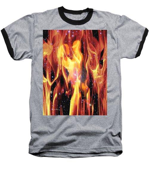 Twin Flames Baseball T-Shirt