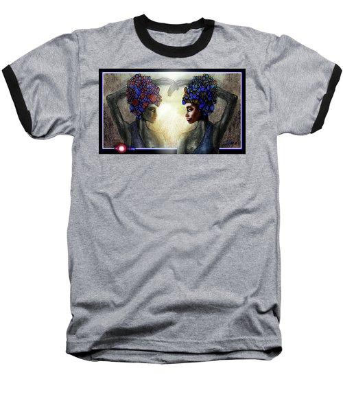 Twin Sisters Baseball T-Shirt