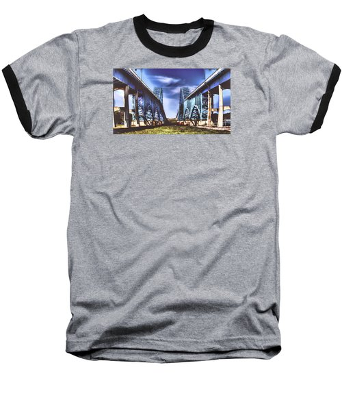 Twin Spanned Arched Baseball T-Shirt