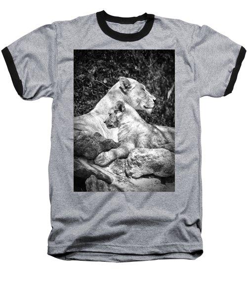 Twin Sphinx Baseball T-Shirt