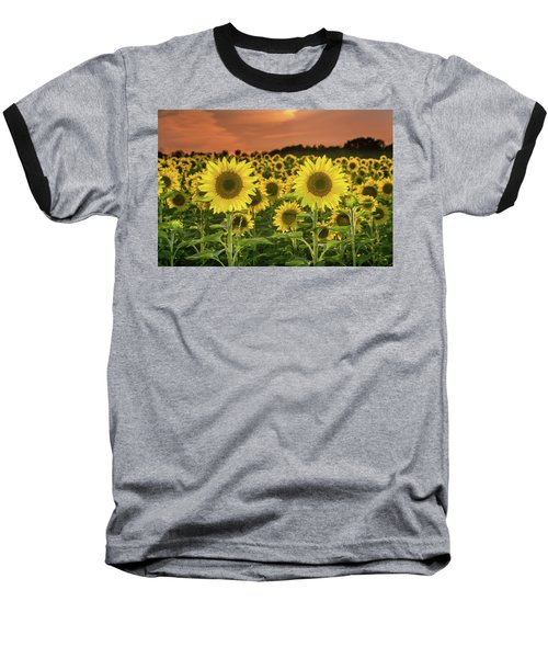 Baseball T-Shirt featuring the photograph Peaceful Opposition by Bill Pevlor
