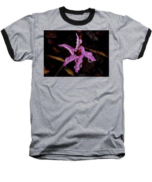 Twinkle, Twinkle Little Star Baseball T-Shirt by Richard Cummings
