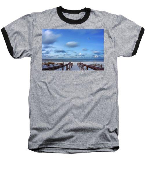 Twinkling Stars Baseball T-Shirt by Don Spenner