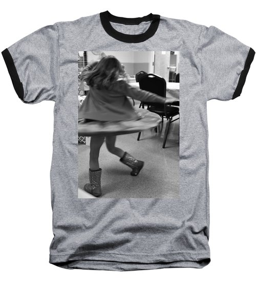 Twirling Girl  Baseball T-Shirt
