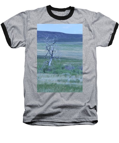 Baseball T-Shirt featuring the photograph Twisted And Free by Mary Mikawoz