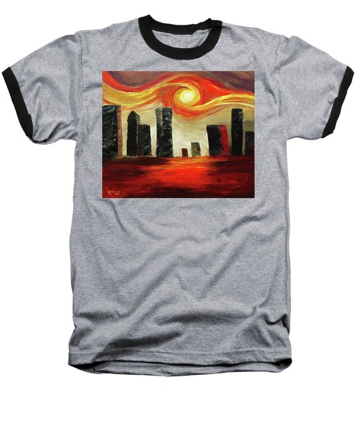 Twisted City Baseball T-Shirt