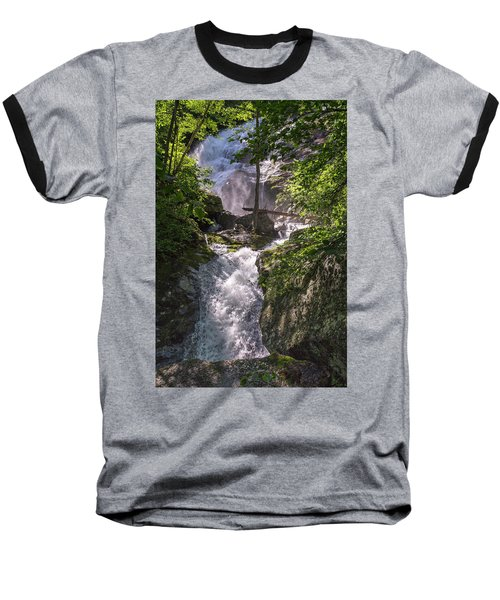 Baseball T-Shirt featuring the photograph Twisted Falls by Alan Raasch