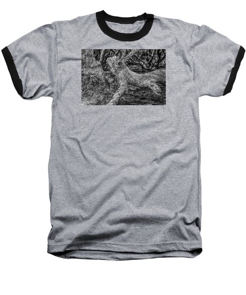 Twisted Baseball T-Shirt by Mark Lucey