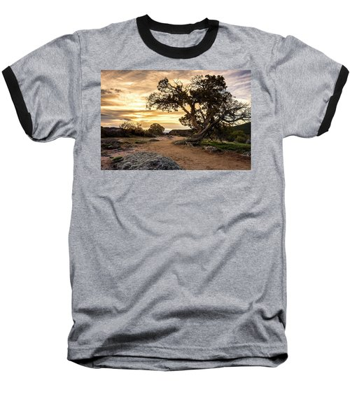 Twisted Sunset Baseball T-Shirt