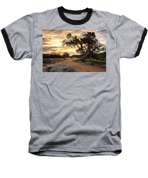 Twisted Sunset Baseball T-Shirt