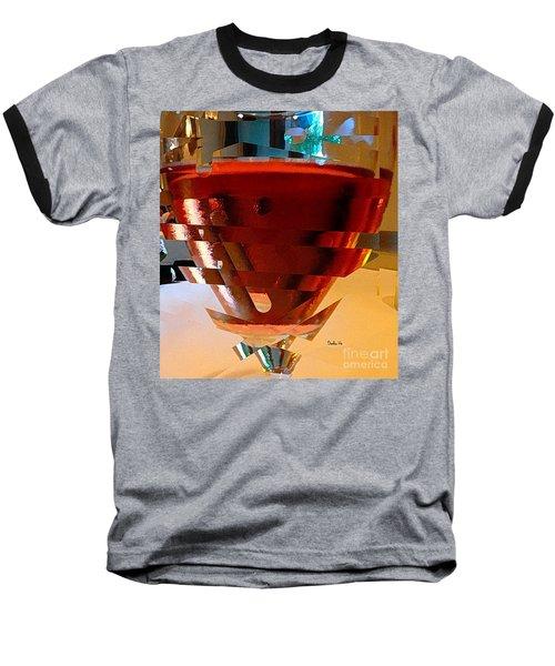 Twisted Wine Glass Baseball T-Shirt