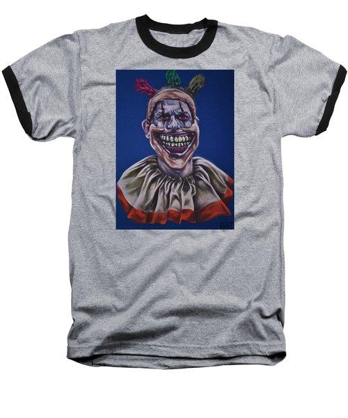 Twisty The Clown  Baseball T-Shirt