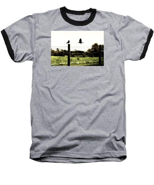 Baseball T-Shirt featuring the photograph Two Birds by Carlee Ojeda