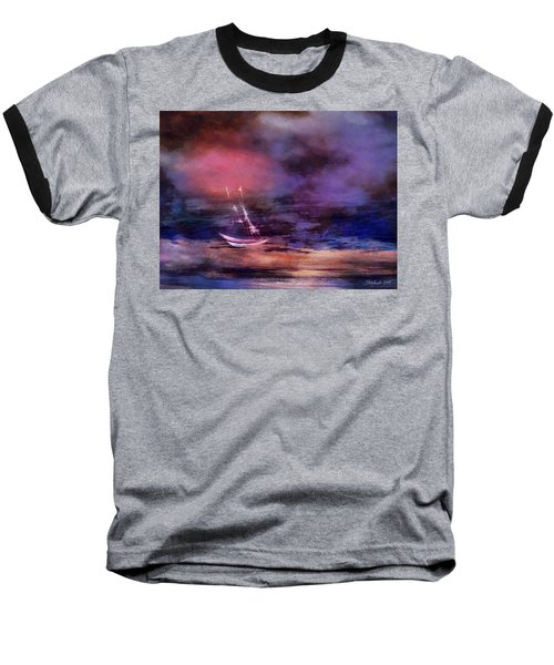 Two Boats Baseball T-Shirt