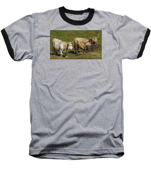 Two Coos Baseball T-Shirt by Linsey Williams