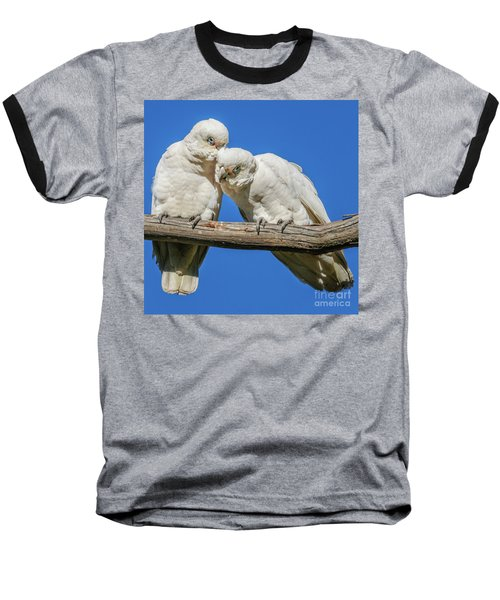 Two Corellas Baseball T-Shirt