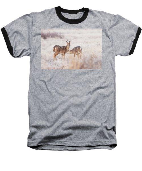 Two Deers Baseball T-Shirt
