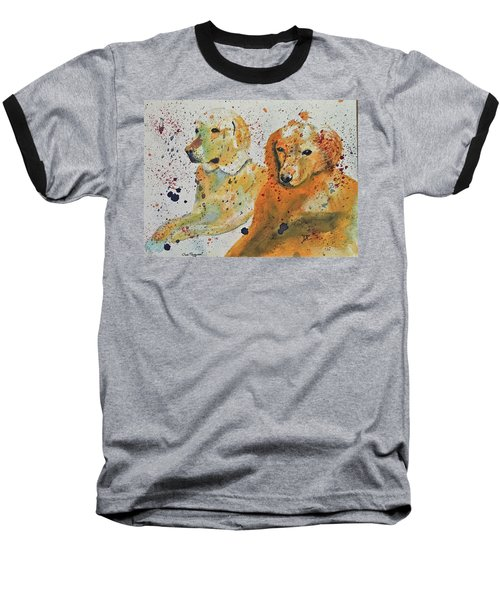 Two Dogs Baseball T-Shirt