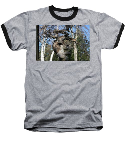 Two Elephants In A Tree Baseball T-Shirt