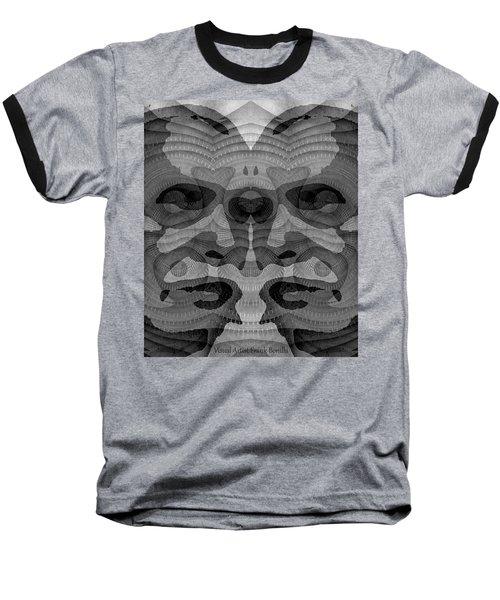 Two-faced Bw Version Baseball T-Shirt