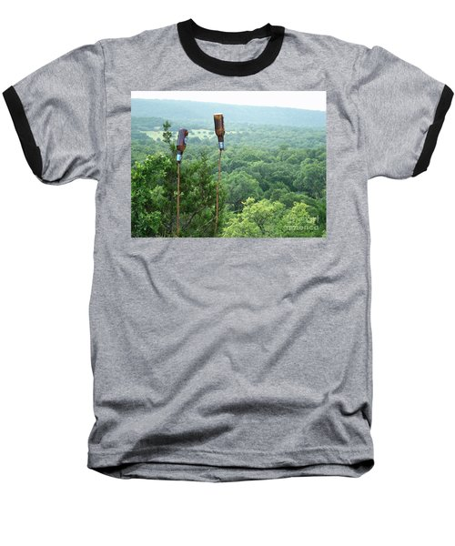 Baseball T-Shirt featuring the photograph Two For The Road by Joe Jake Pratt