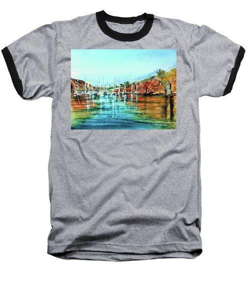 Two Harbors Catalina Morning Impressions Baseball T-Shirt