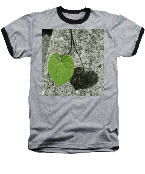 Two Hearts Entwined Baseball T-Shirt by Bruce Carpenter
