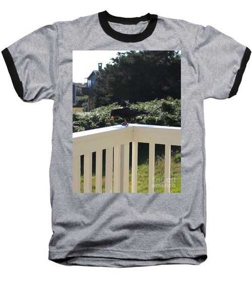Baseball T-Shirt featuring the photograph Two In The Beak by Marie Neder