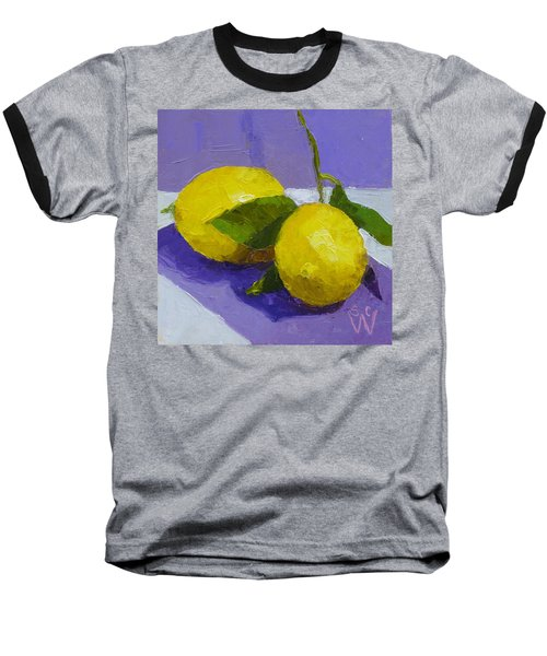 Two Lemons Baseball T-Shirt