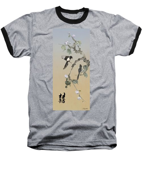 Two Magpies                       Baseball T-Shirt