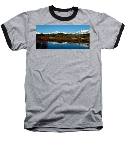 Two Med River Reflection Baseball T-Shirt