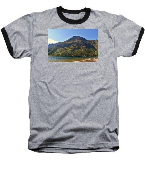 Two Medicine Lake Baseball T-Shirt by Dacia Doroff