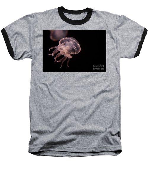 Two Moon Jellies Baseball T-Shirt