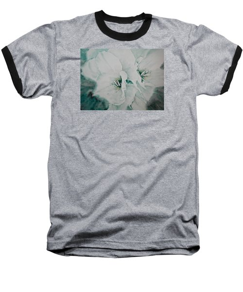 Baseball T-Shirt featuring the painting Two Of A Kind by Carolyn Rosenberger