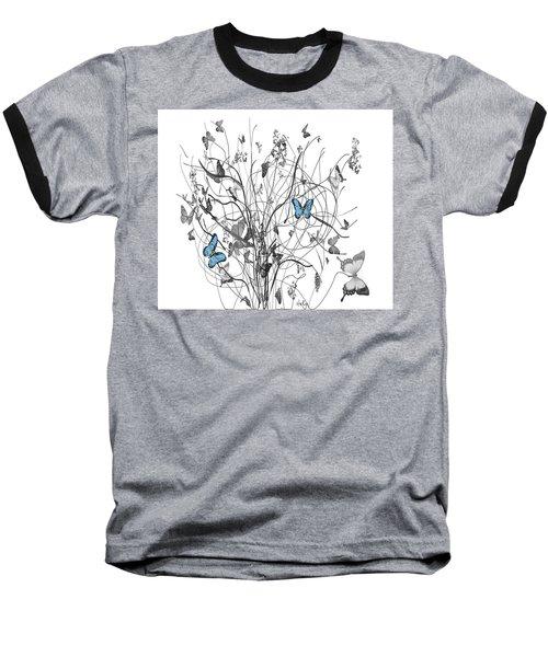Two Of A Kind  Baseball T-Shirt by Sladjana Lazarevic