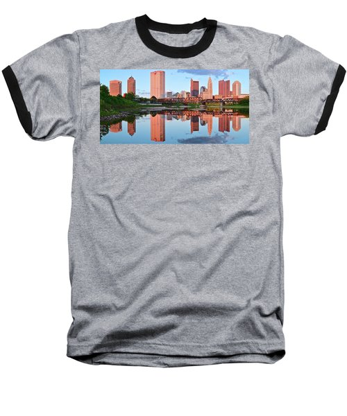 Baseball T-Shirt featuring the photograph Two Of Everything by Frozen in Time Fine Art Photography